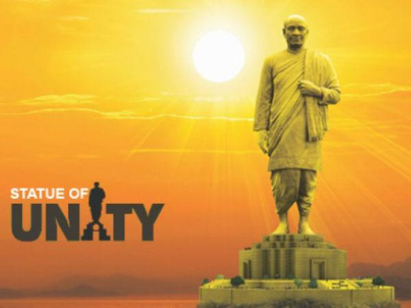 The proposed model of 'Statue of Unity'