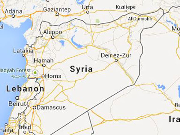 Mass blackout hits cities in Syria