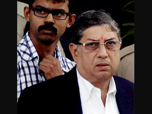 Srinivasan appeared before CBI court