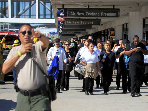 Gun-wielding youth kills security agent at Los Angeles airport