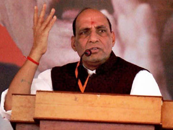 BJP has been framed: Rajnath