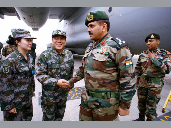 India-China start joint military drill