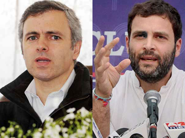 Srinagar: Rahul a supporter of Omar