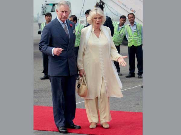 BJP leaders skip British royals banquet