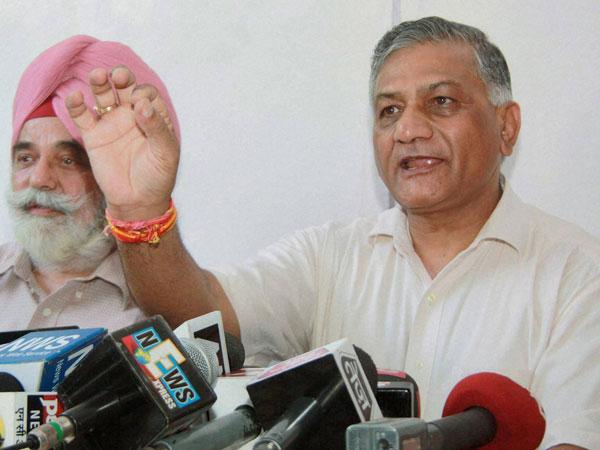 Gen V K Singh drags PMO in scandals
