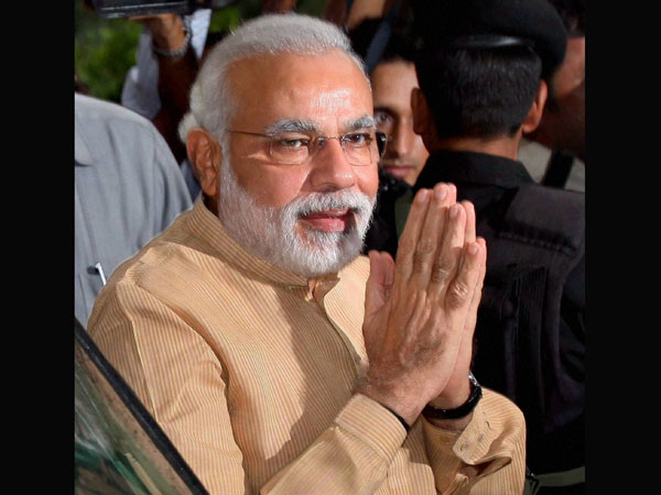 Modi praises BJP and its karyakartas