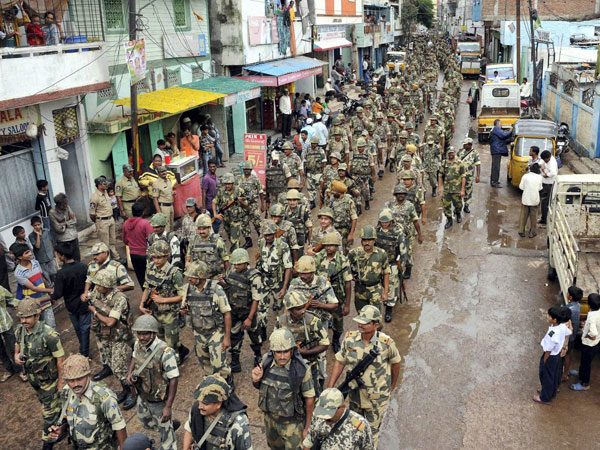 Security cover on par with R-Day for Swacch Bharat event tomorrow