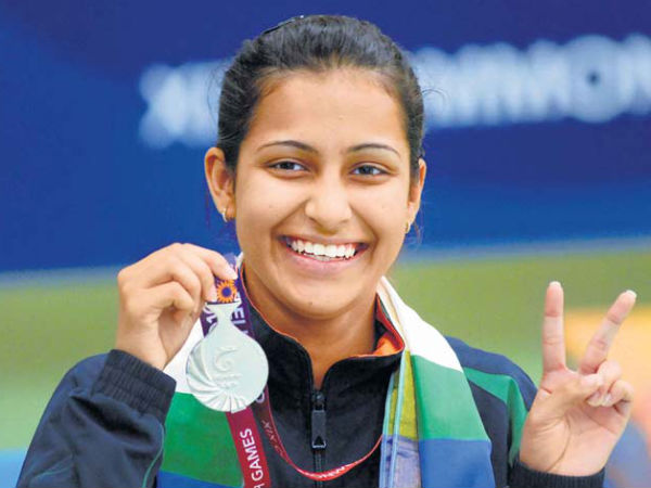 Heena Sidhu wins pistol gold in WC