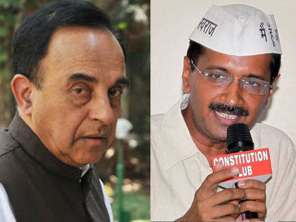 Swamy hits out at Arvind Kejriwal