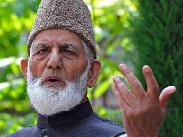 Violence solution to Kashmir: Geelani