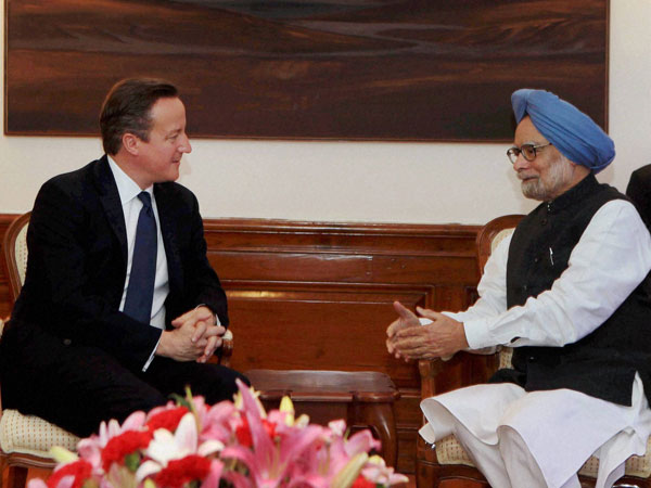 Cameron's India visit to boost ties