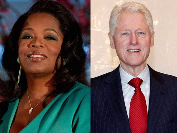 Clinton, Winfrey to be awarded by Obama
