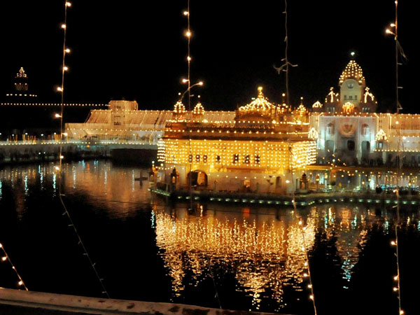View of Golden Temple