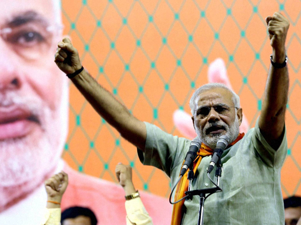 Modi lashes out against Rajasthan CM
