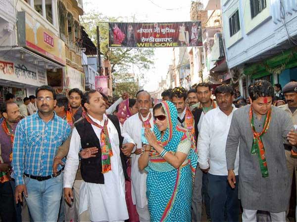 MP: BJP's rich candidate Yashodhara Raje