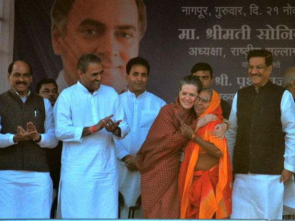 In pics: Sonia Gandhi's MP rally