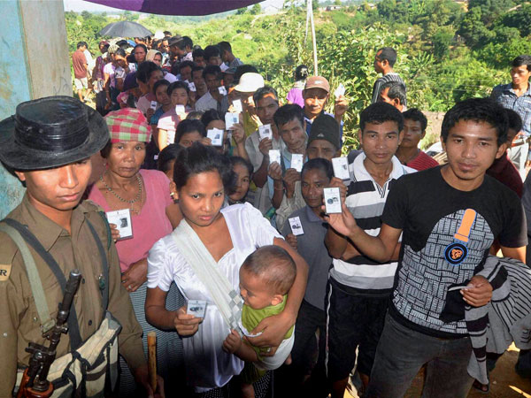 Mizoram set for assembly polls