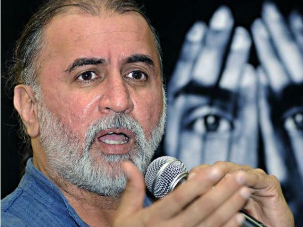 Tejpal tries to pressurise journalist?