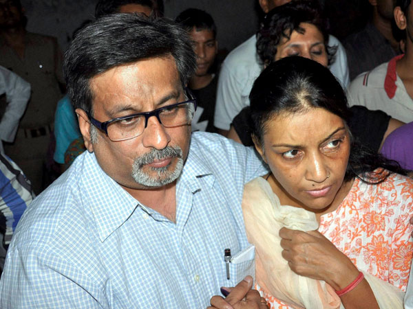 Nupur Talwar and Rajesh Talwar who were convicted by a special CBI court