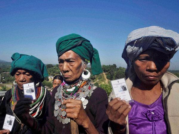 Mizoram: Over 70% polling till 3 pm