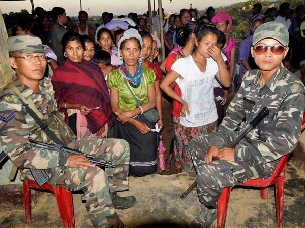 50 percent votes cast in Mizoram
