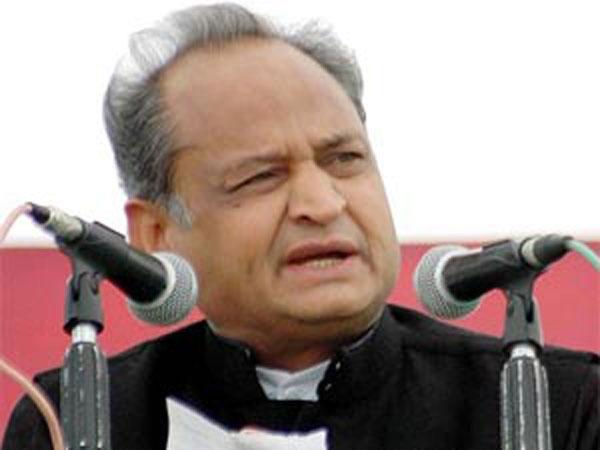 Ashok Gehlot lashes out at Raje