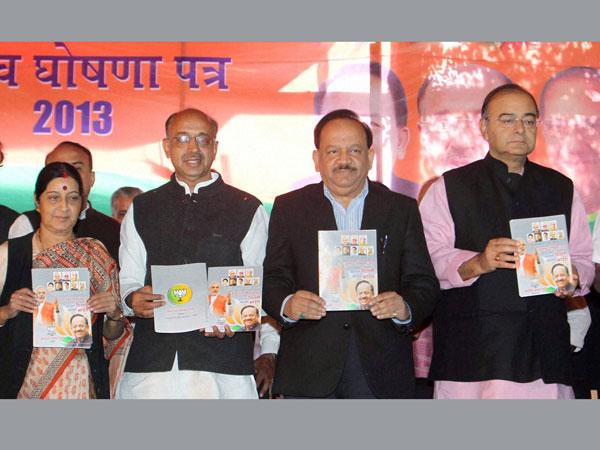 BJP releases 70 individual manifestos