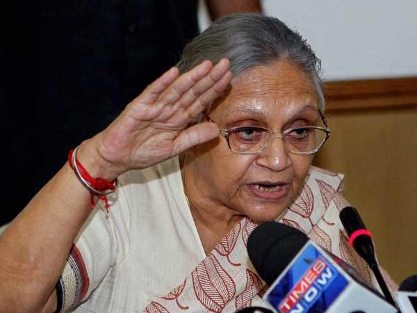 Sheila Dikshit hits out at Kejriwal