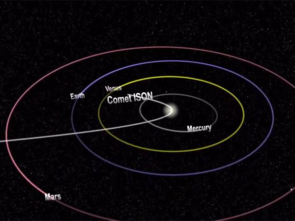 Comet ISON vanishes near sun