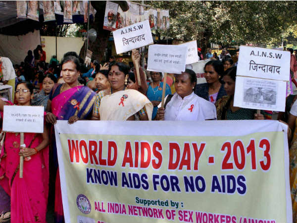 Members of 'All India Network of Sex Workers'