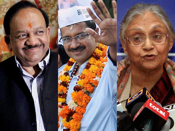 Delhi:Parties campaign for one last time