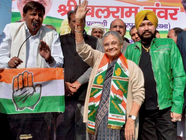 Sheila Dikshit plans big for Delhi