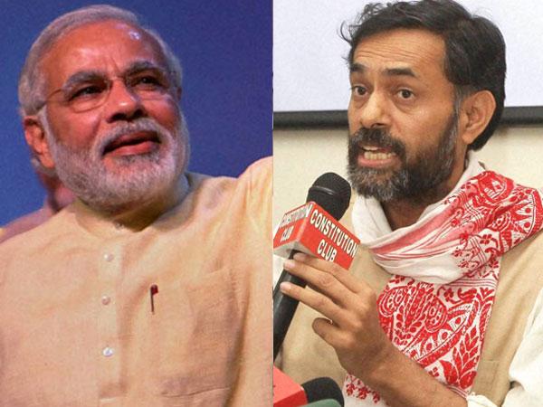 Yogendra Yadav dismisses Modi wave
