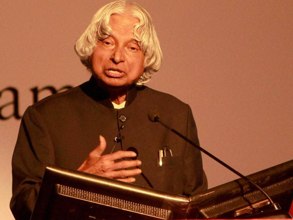Kalam waits for an over to cast his vote