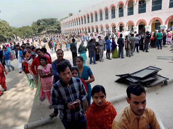 Delhi polls: Delhiites come out to poll