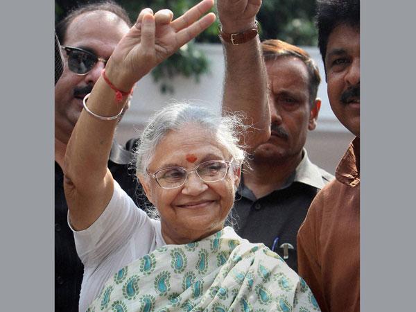 Dikshit crosses fingers for Delhi battle