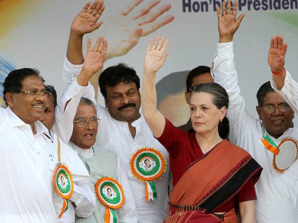 Sonia Gandhi casts her vote