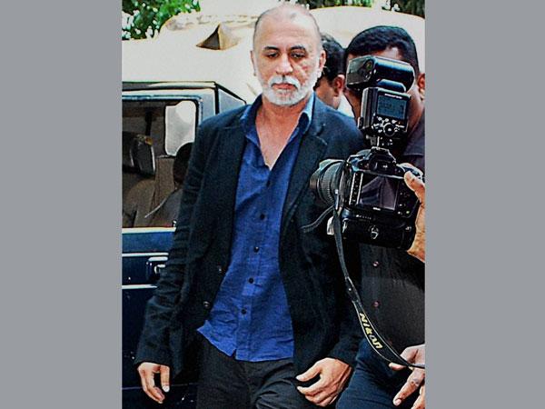 Court rejects Tejpal's plea for fan in police lock-up