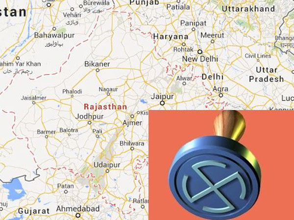 Rajasthan map and elections