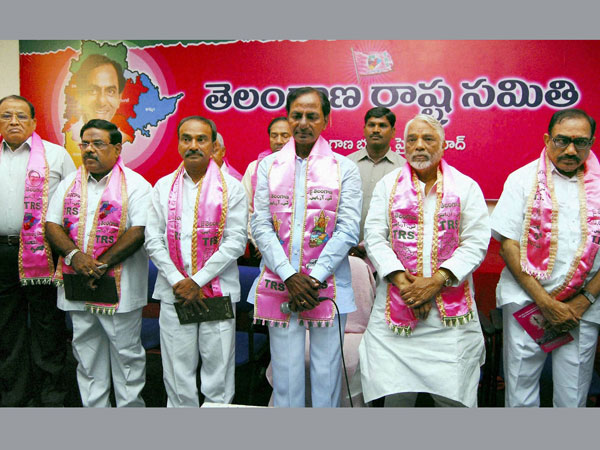 TRS condemns governor rule in Telangana