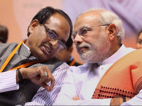 Does Chouhan pose a challenge to Modi?