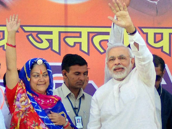 Raje and Modi
