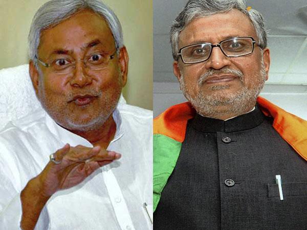 Sushil Kumar Modi attacks Bihar CM