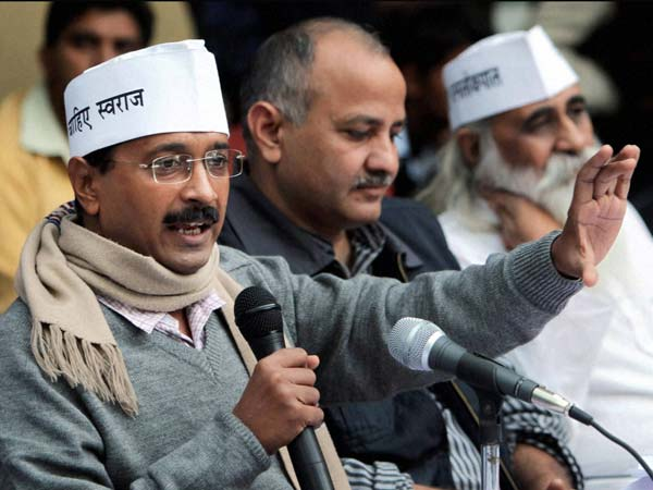 Kejriwal and other AAP leaders