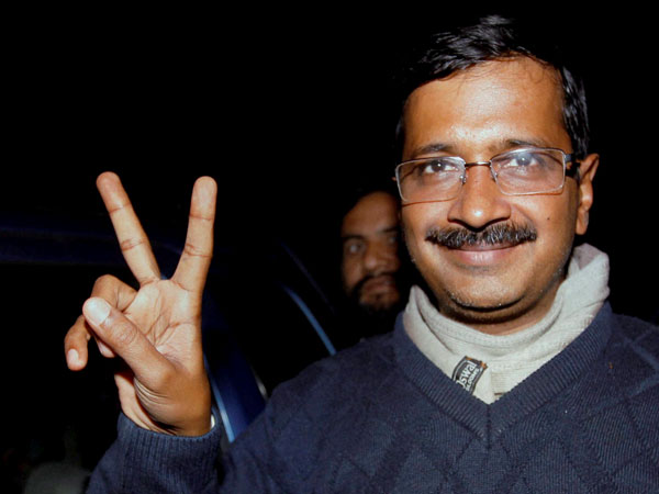 Honours pour in for Kejriwal