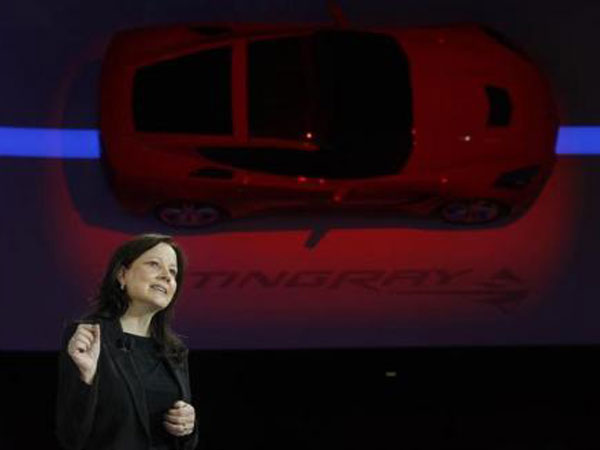 General Motors names first woman CEO
