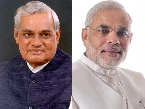 Modi and Vajpayee