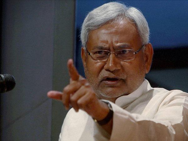 Nitish questions Narendra Modi
