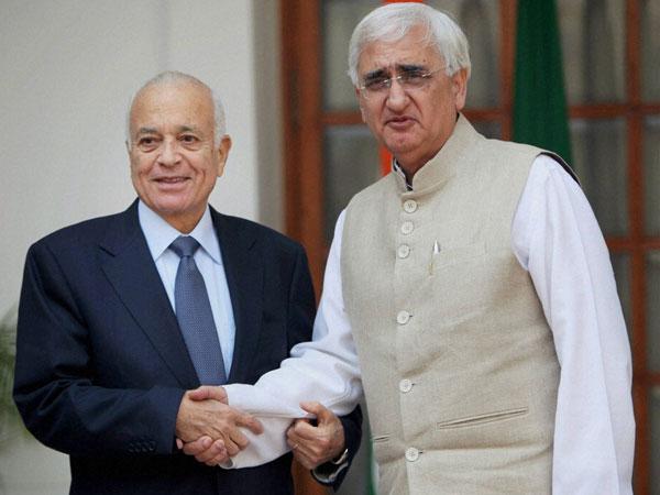 Arab League chief meets Khurshid