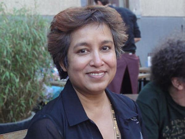 UP police not to act on Taslima Nasreen